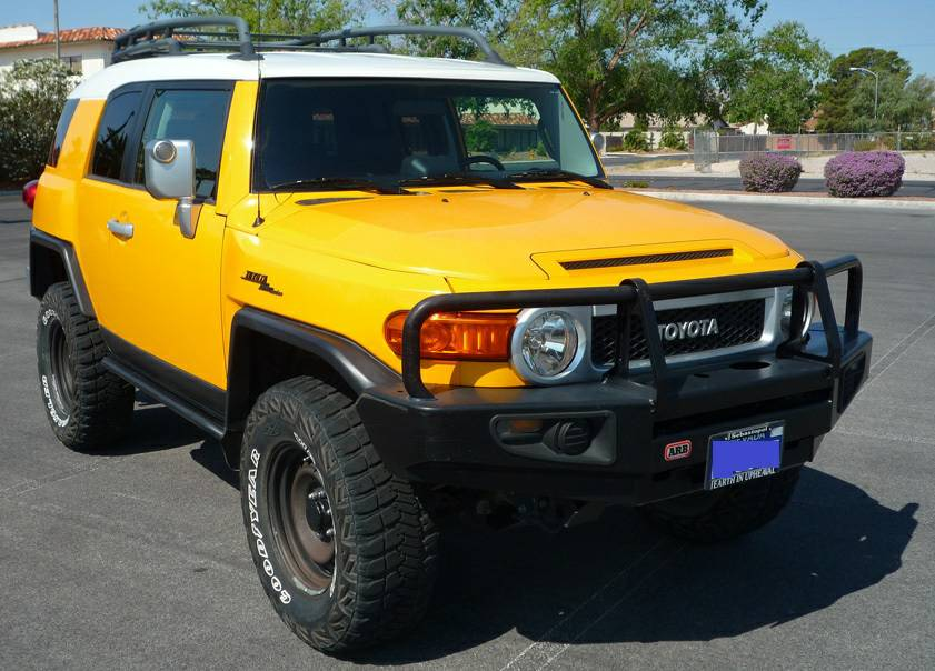 2007 Toyota Fj Cruiser Automatic Desert Rig With Low