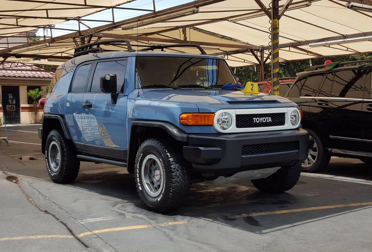 Oem Audio Plus >> FS: 2014 FJ Cruiser - Heritage Blue, in SoCal - Toyota FJ ...