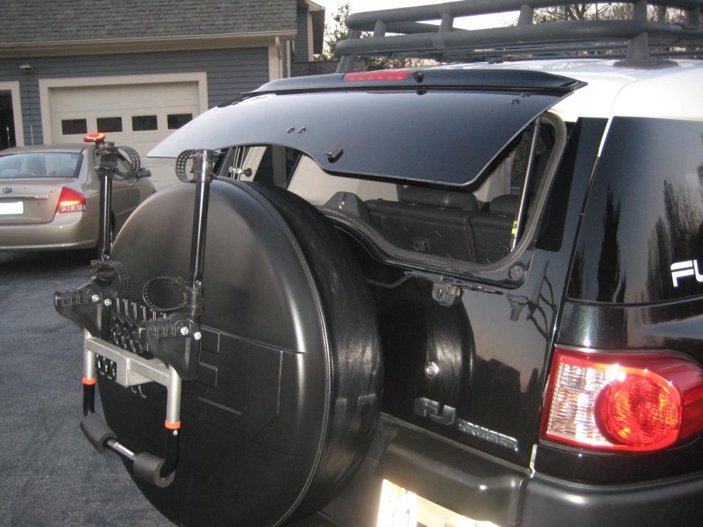 Custom Rear Window Decals >> Rear Window Mods - Toyota FJ Cruiser Forum