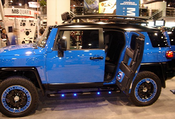 Pic Request Voodoo BlueBlack Roof  Toyota FJ Cruiser Forum