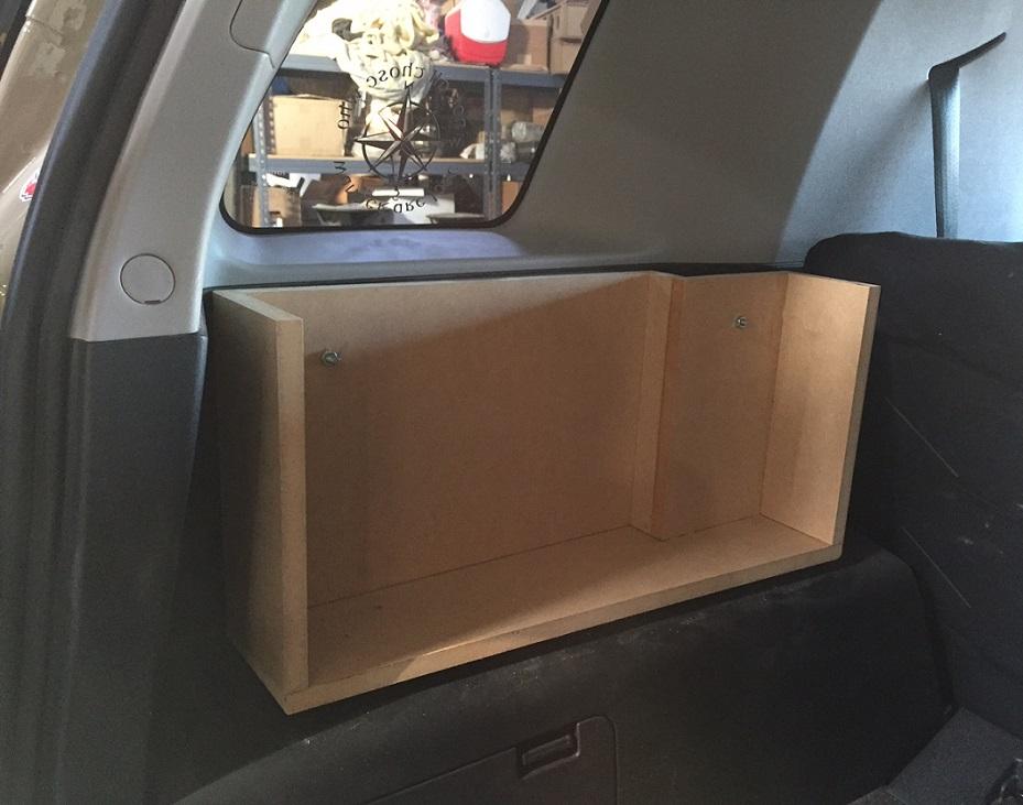 New FJ custom sub box installed - Toyota FJ Cruiser Forum