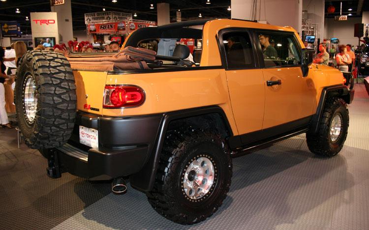 Perfect ... Click Image For Larger Version Name:  112_2007_sema_02z Toyota_fj_convertible Rear_profile Views: ...