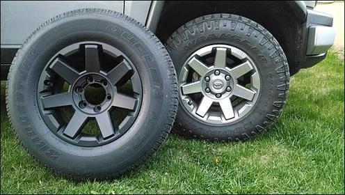 Has Anyone Powder Coated The Stock Wheels Toyota Fj