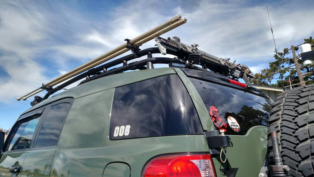 Rod Vault Roof Rack Roof