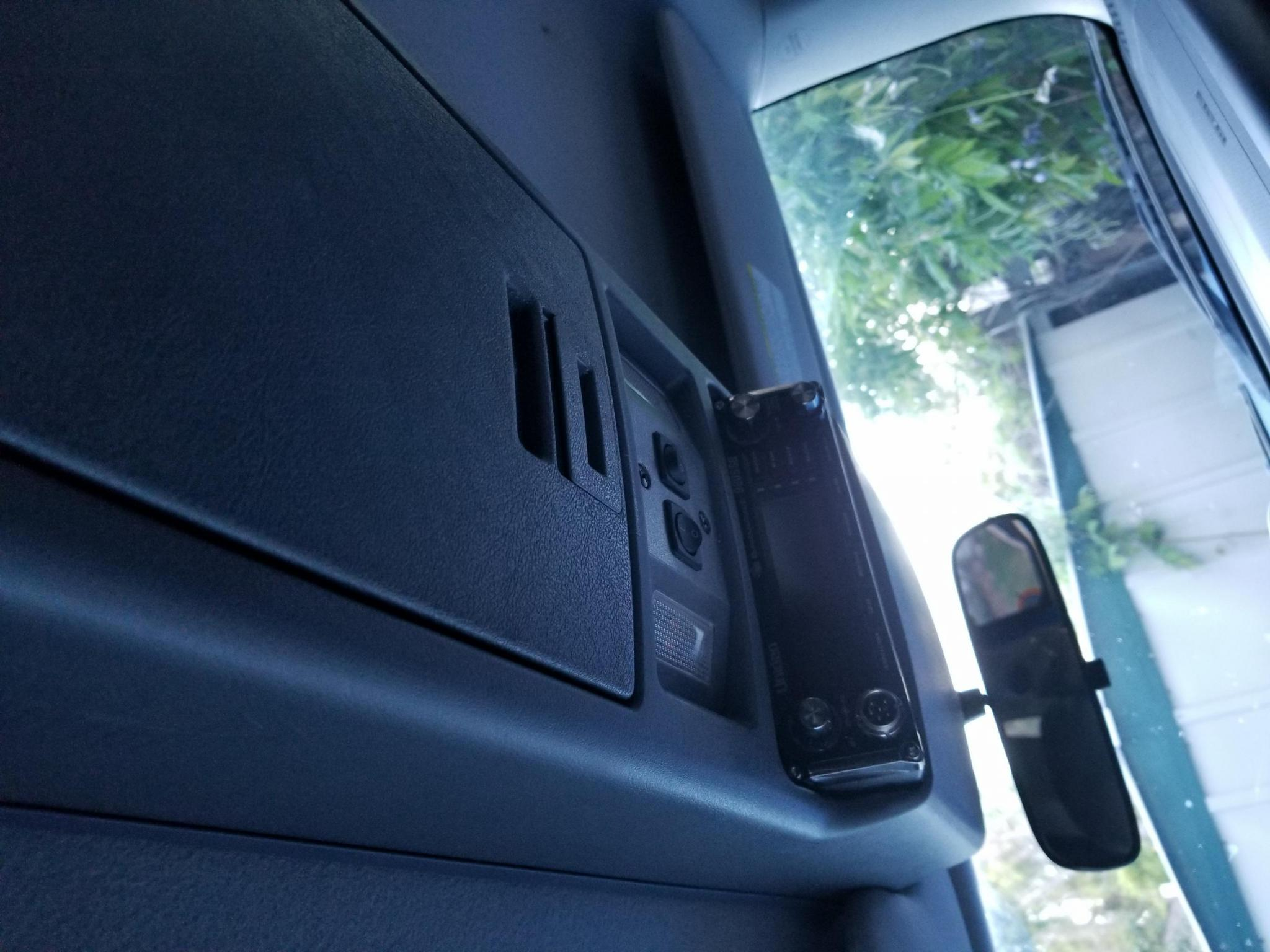 Outback Roof Console Full Install 2008 Tte Toyota Fj