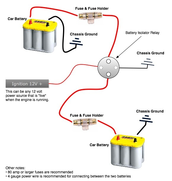 dual battery solenoid isolator wiring diagram wiring solutions rh rausco com 3 Post Solenoid Wiring Diagram Solenoid Parts Diagram