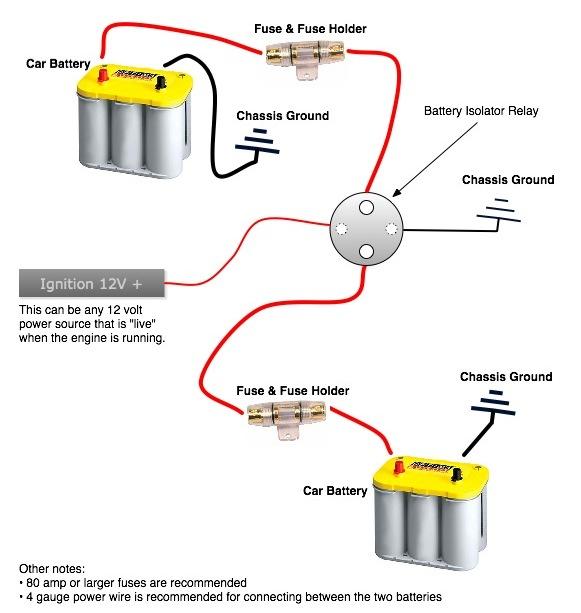 Lets talk dual battery isolators | Toyota FJ Cruiser Forum | Battery Isolator Wiring Diagram For Winch |  | Toyota FJ Cruiser Forum