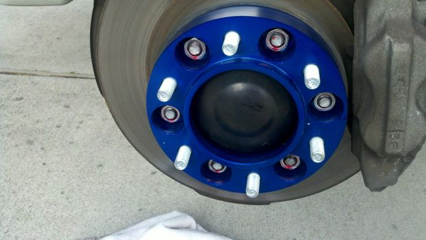 285 75 16 >> Spidertrax Wheel Spacers installed today. Reference pics - Toyota FJ Cruiser Forum