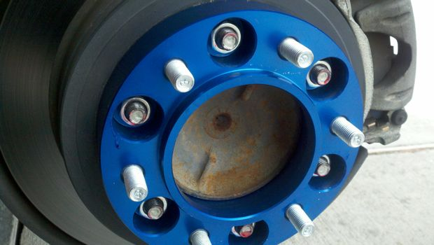Toyota Tacoma Headlights >> Spidertrax Wheel Spacers installed today. Reference pics - Toyota FJ Cruiser Forum