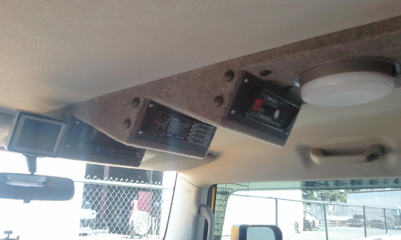 Toyota Fg Cruiser >> Finally!! Custom Overhead Console Project! - Toyota FJ Cruiser Forum