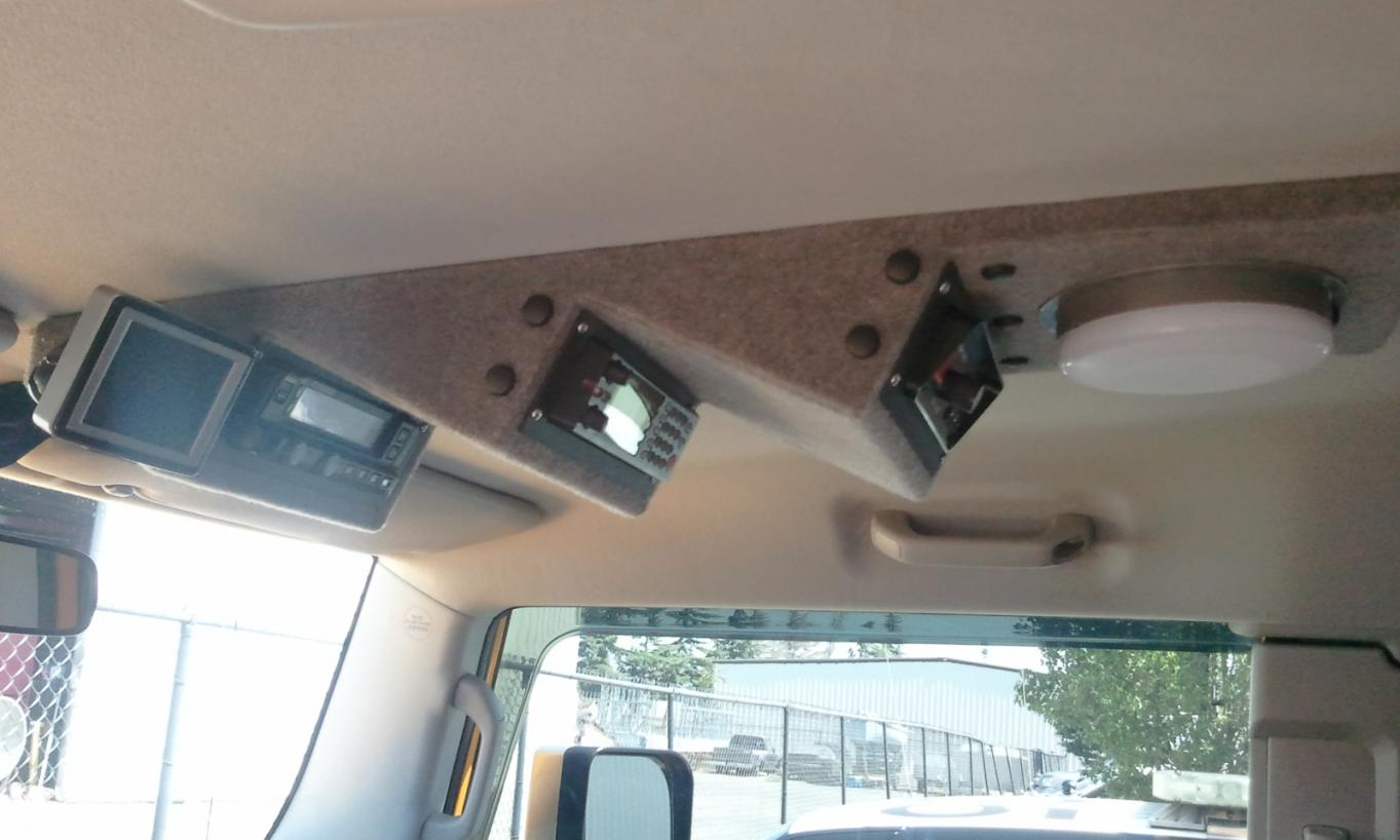 Finally Custom Overhead Console Project Toyota Fj