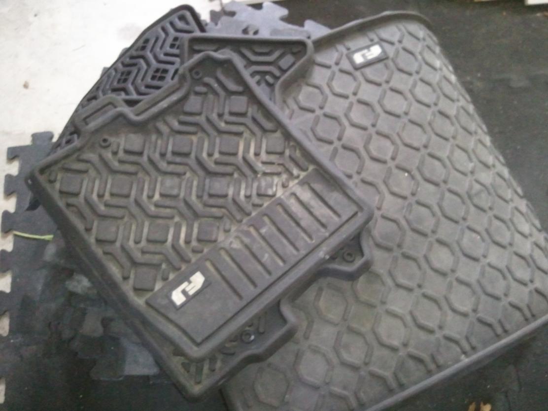 All Weather Mats >> OEM All weather rubber floor mats - Toyota FJ Cruiser Forum