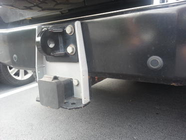 FOR SALE:  ARB Rear bumper with hitch & shackle mount - Charlotte, NC Attachment