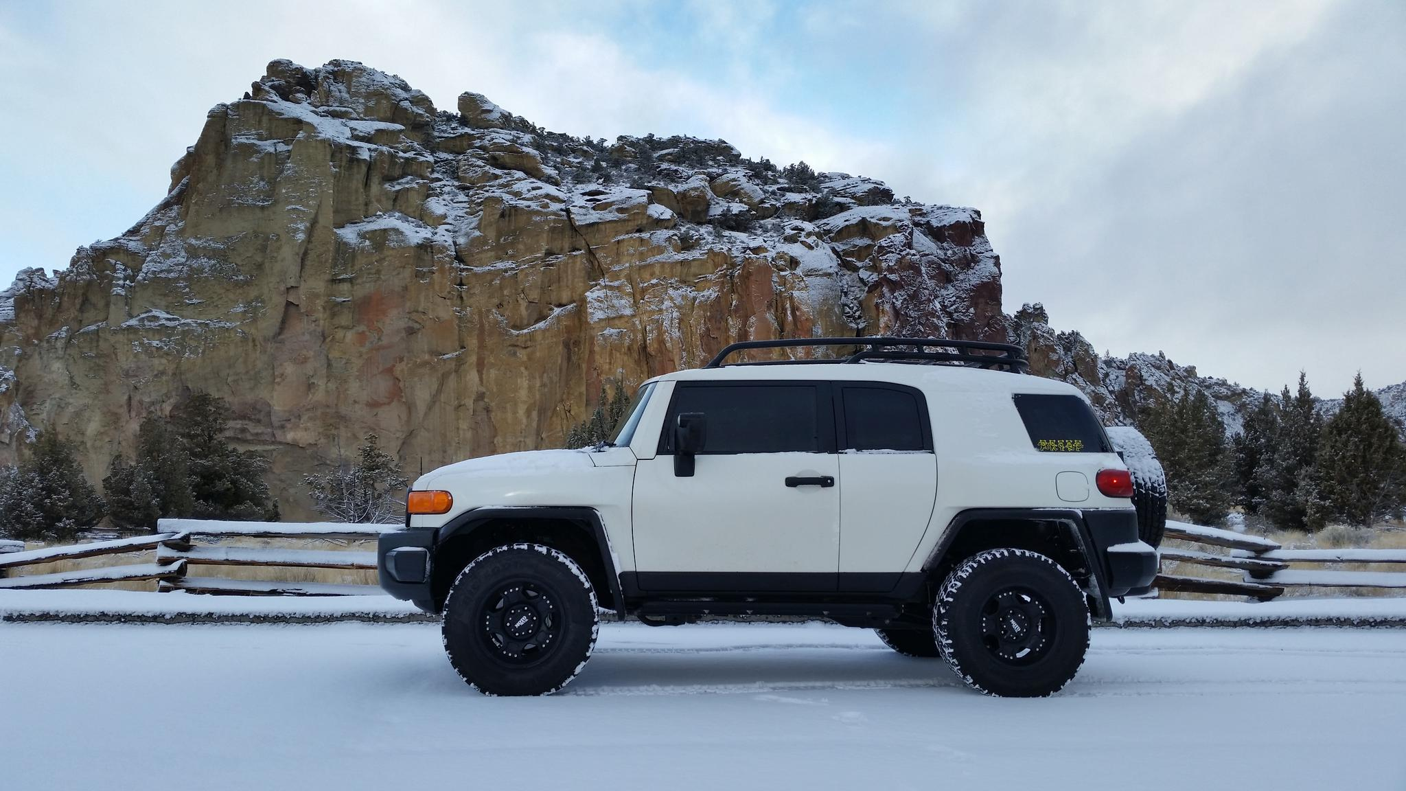 fj cruisers in the snow, post your pics. - page 91 - toyota fj