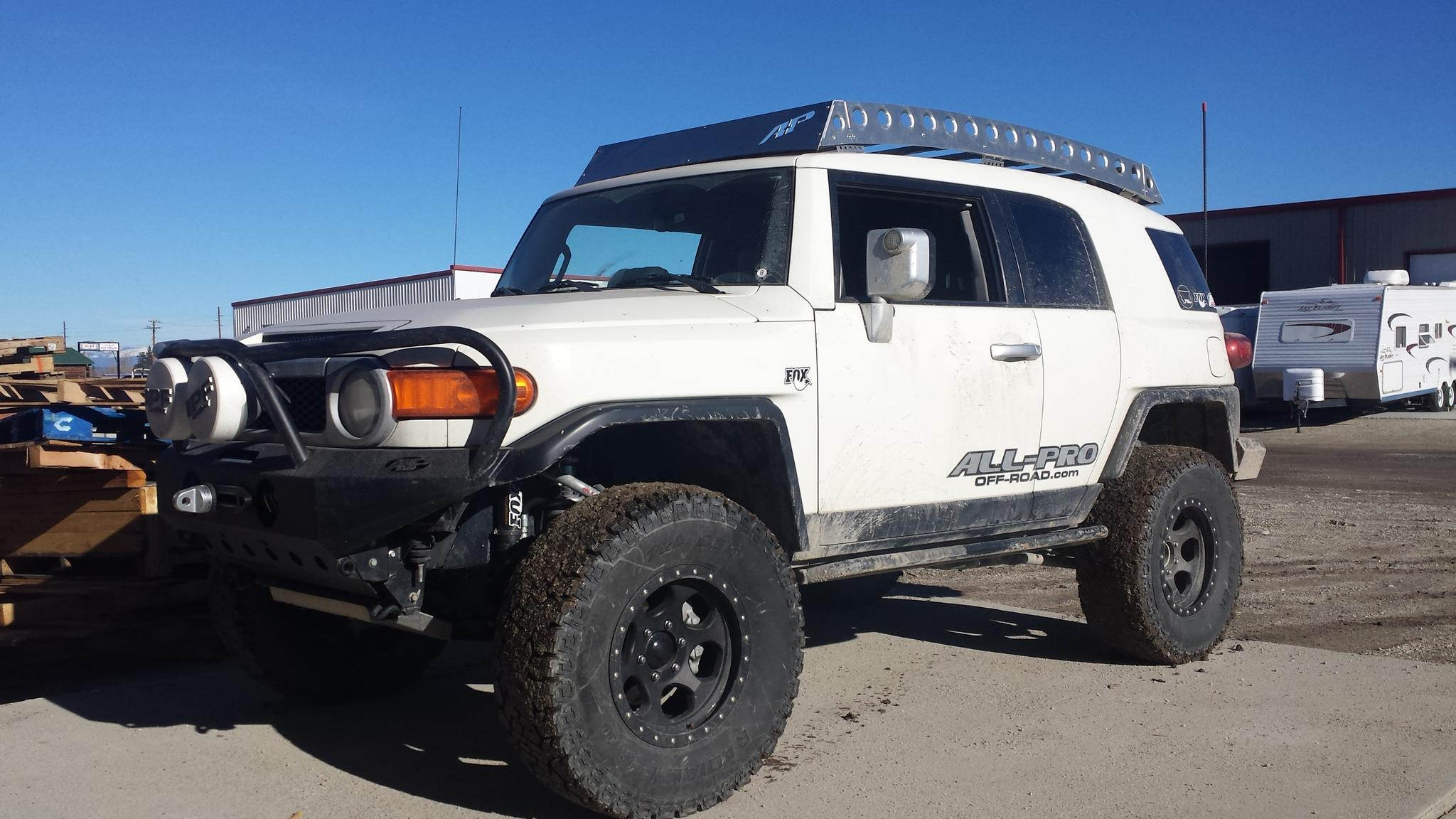 It S Back All Pro Offroad S Original Fj Roofrack