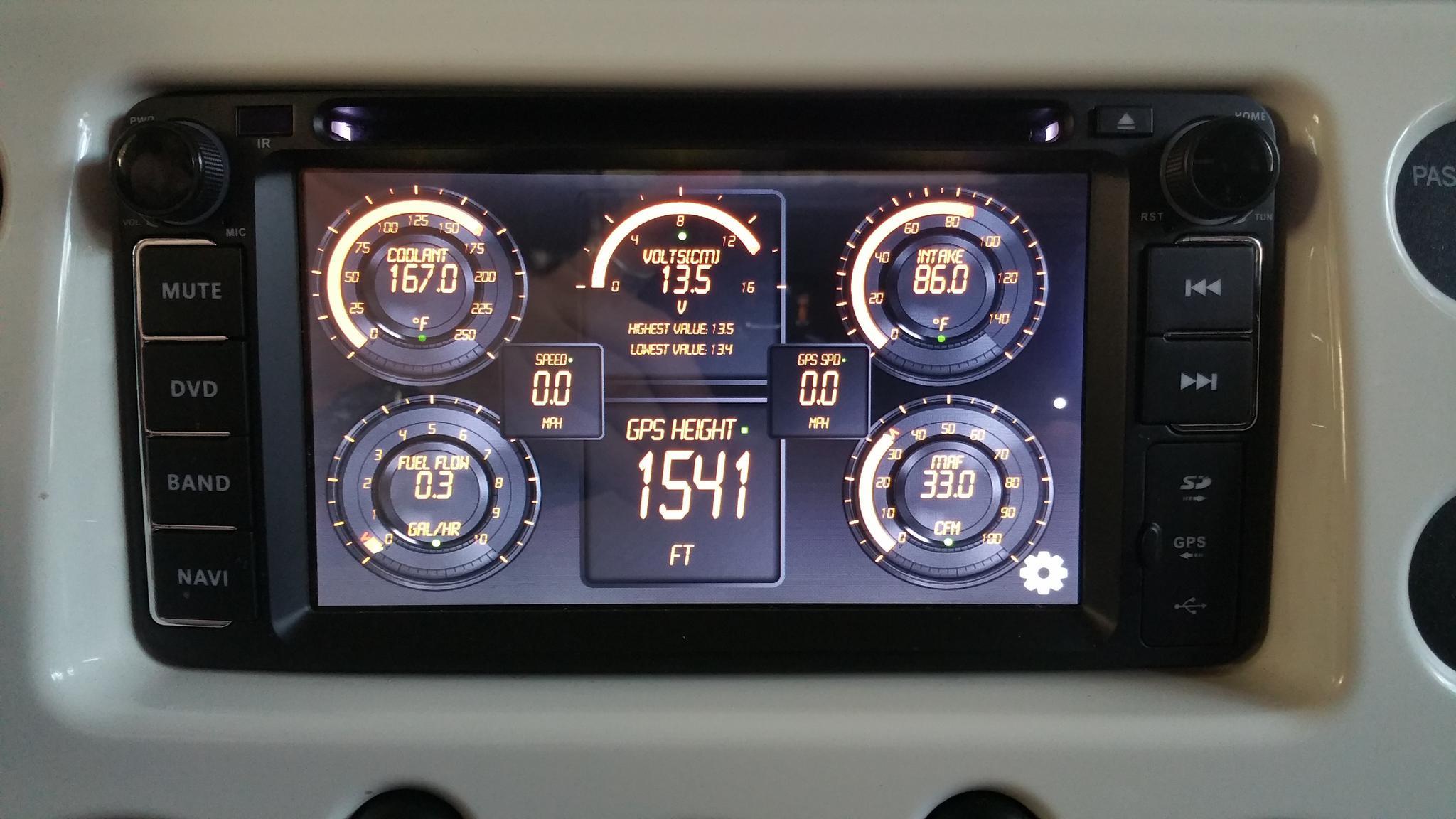 Android Stereo Upgrade Toyota Fj Cruiser Forum