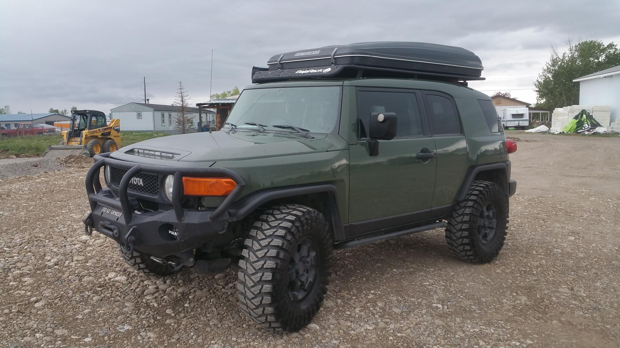Fj 2011 Trail Teams Overlanding Edtion Sold Toyota