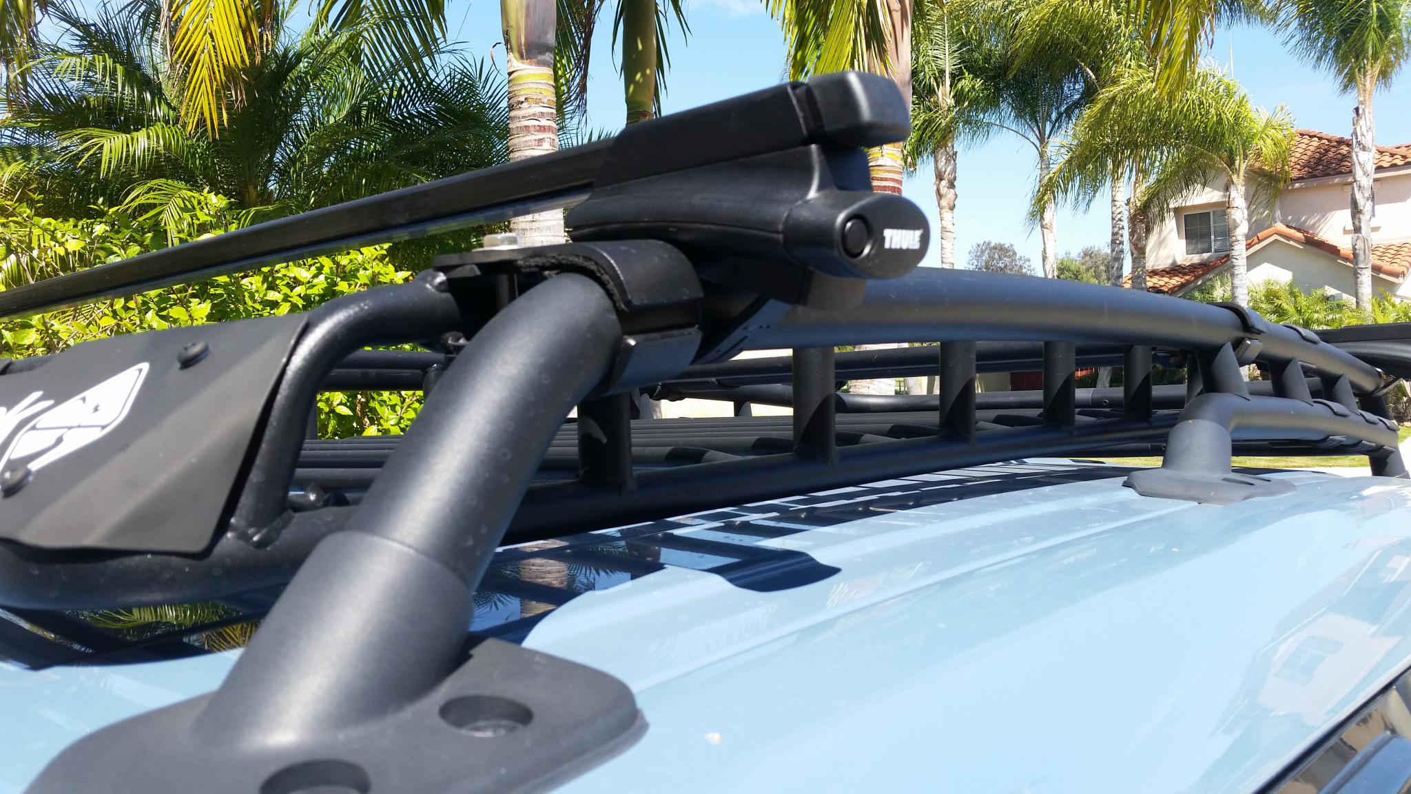 Click image for larger version Name 20160617_153236.jpg Views 1032 Size 360.2 ... & Roof Top Tent for OEM Rack - Toyota FJ Cruiser Forum