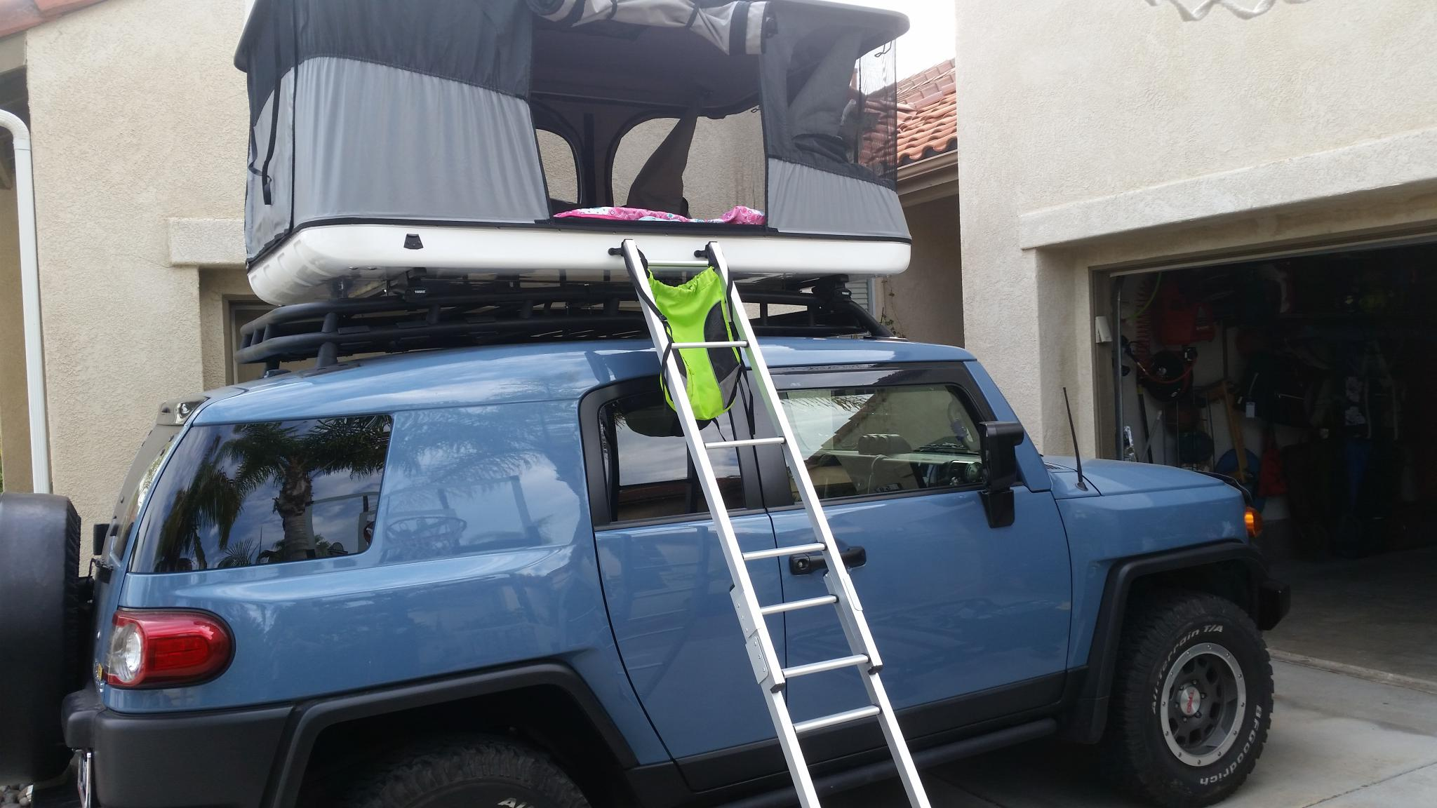 ... click image for larger version name 20180621 172940 jpg views 937 size 245 4 · gobi stealth fj cruiser roof rack ... & Fj Cruiser Tent Roof Rack - Flat Roof Pictures