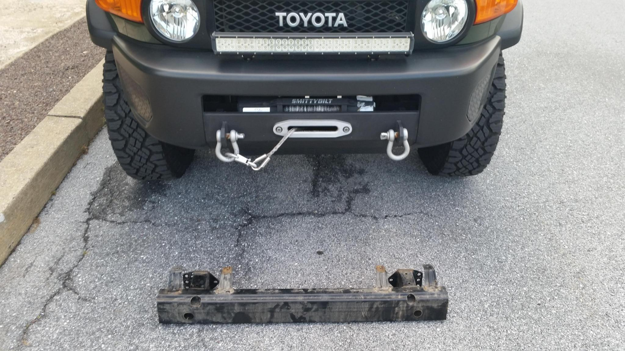 Fj Oem Metal Front Bumper Toyota Fj Cruiser Forum Make Your Own Beautiful  HD Wallpapers, Images Over 1000+ [ralydesign.ml]