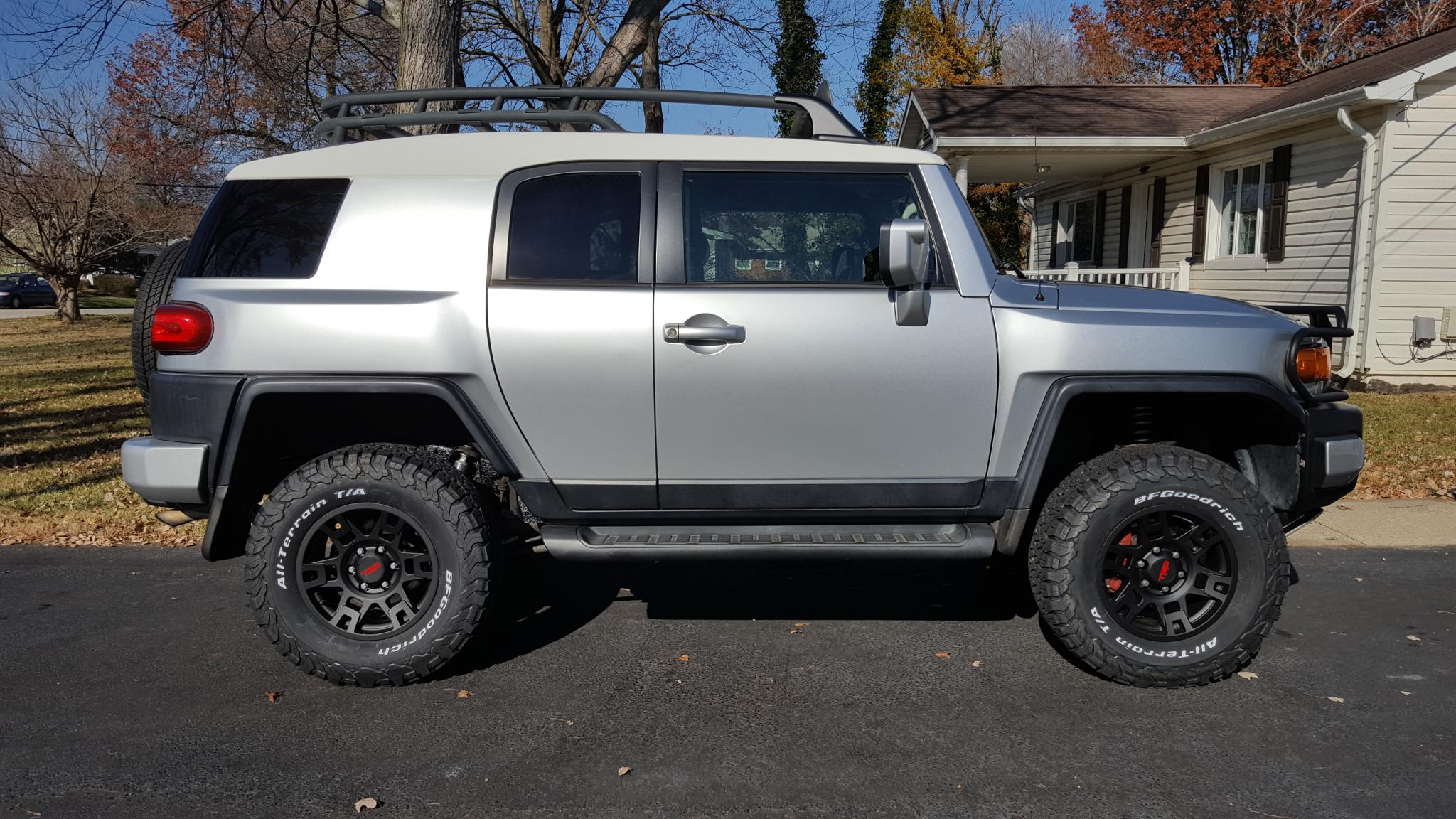 Trd Sema Wheels On My Fj Toyota Fj Cruiser Forum