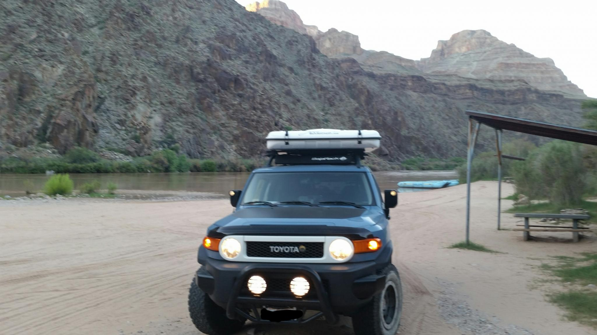 Overroam Roof Top Tent Denver Outers Fj Cruiser Roofrac Toyota Rack Expedition 07 2016