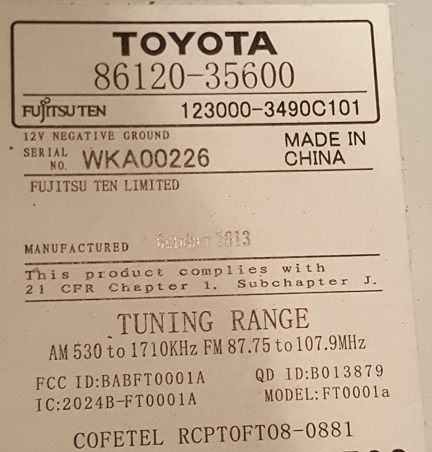 962905d1511469418 head unit stereo wiring diagram 14 help 20171123_141019 head unit stereo wiring diagram for '14 help! toyota fj toyota 86120 wiring diagram at n-0.co