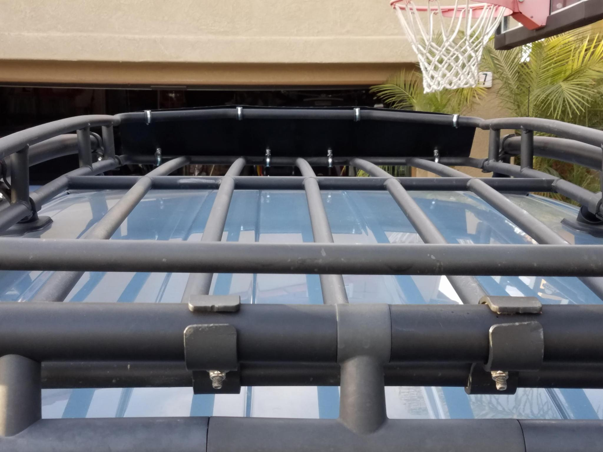 Air Dam For Waag Roof Rack Basket Toyota Fj Cruiser Forum