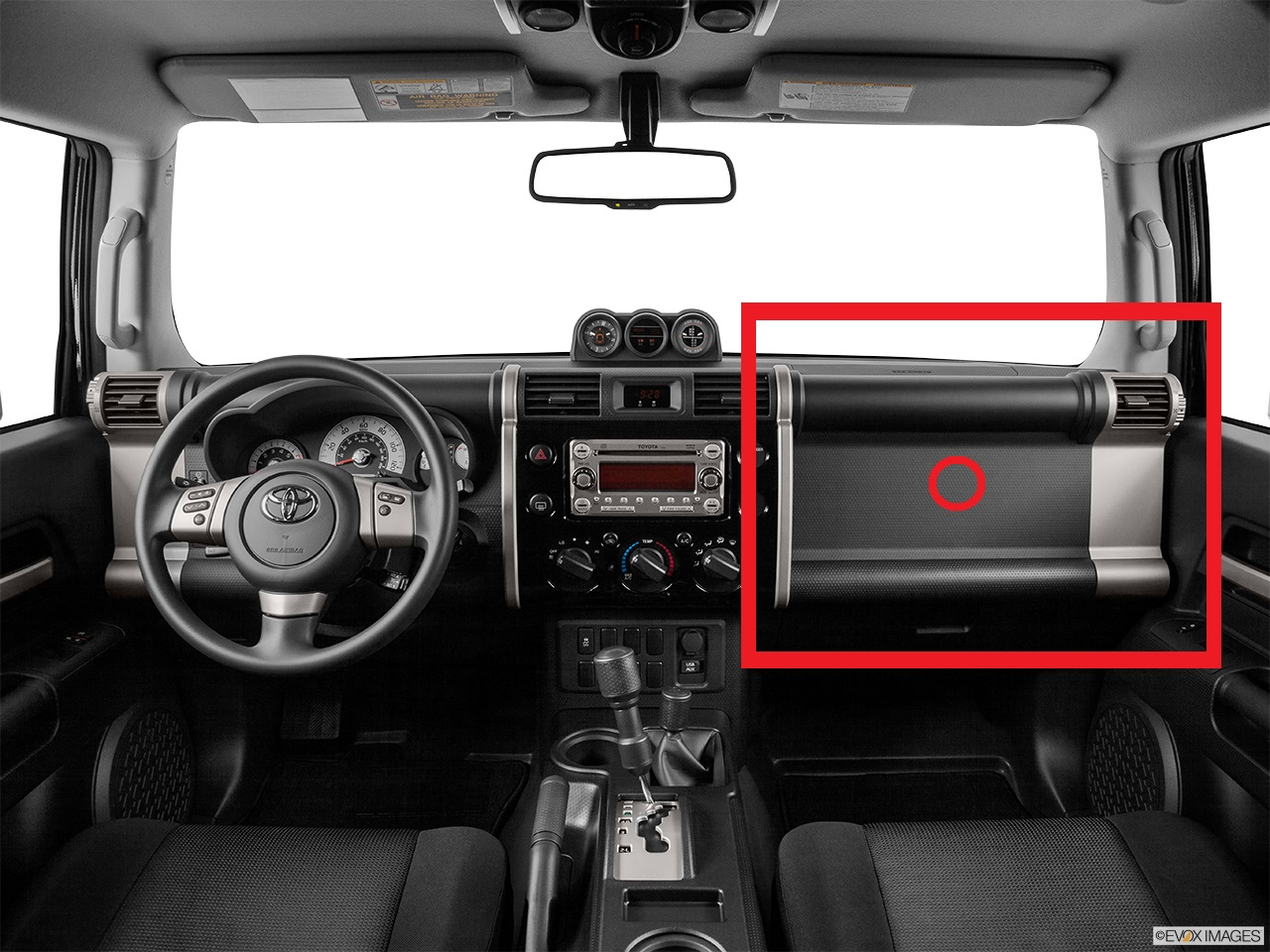 Question About Mod To Dash Above Glove Box Toyota Fj