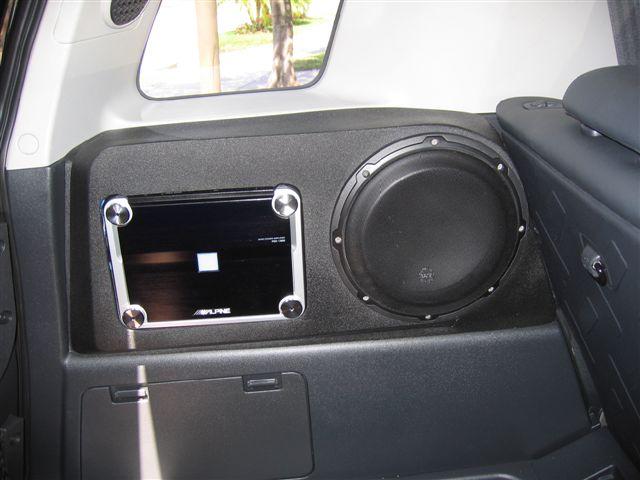 New Subwoofer Enclosure Fiberglass 2 X 10 Quot Setup From