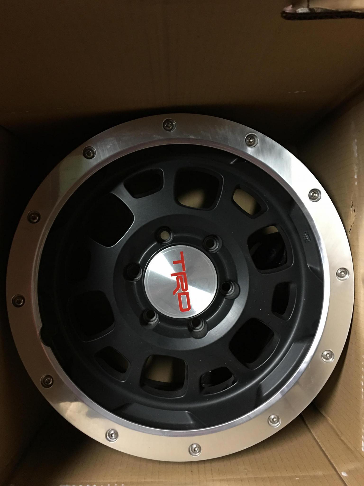 FS: 16 Inch TRD beadlock wheels off of 13 TT - Toyota FJ ...
