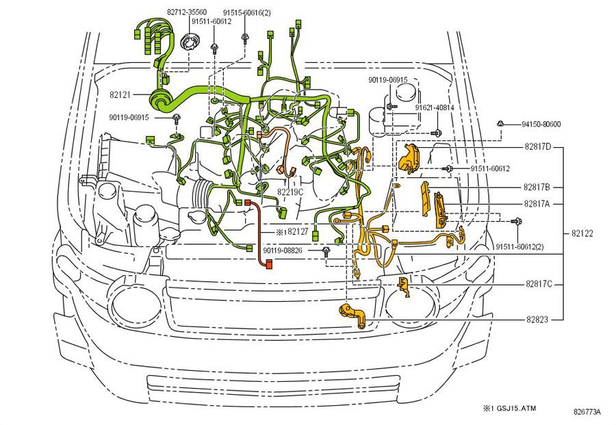 wire harness eaten by rat toyota fj cruiser forum rh fjcruiserforums com fj cruiser wiring harness fj cruiser wiring harness trailer