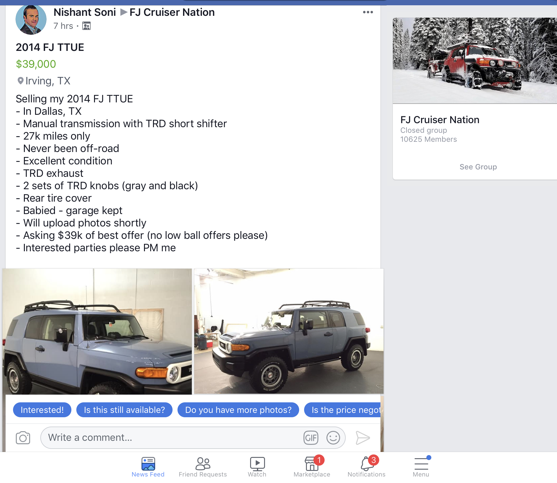 Toyota Dealership Oahu >> WTB 2014 TTUE 6 speed manual - Page 2 - Toyota FJ Cruiser ...