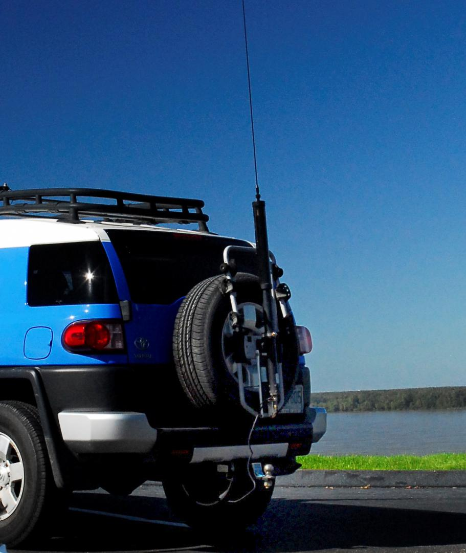 Hams... show me your Little Tarheel (or other screwdriver) antenna mounts!  | Toyota FJ Cruiser Forum