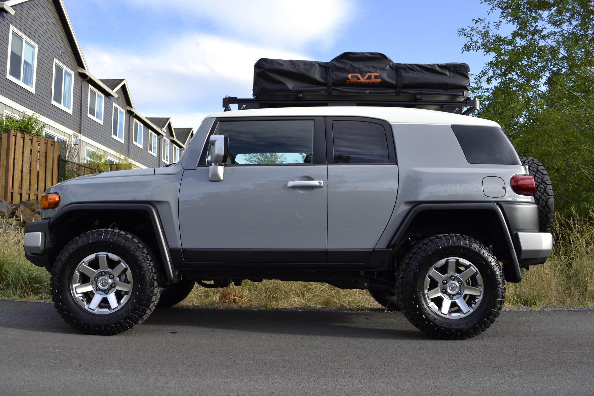 Post Your Non Tt Cement Grey Fj With White Roof Here Page 5