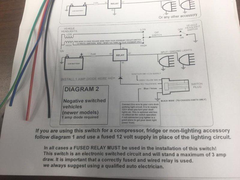 Piaa Lights  U0026 Wiring Harness To Ch4x4 Switch
