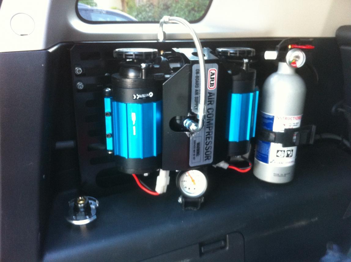 on board air compressor. attachment 63085 on board air compressor