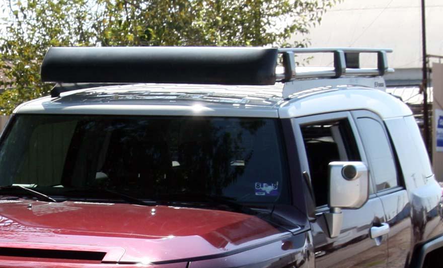Oem Roof Rack W Custom Light Mount Toyota Fj Cruiser Forum