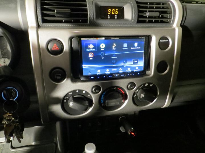 My New Stereo System Toyota Fj Cruiser Forum
