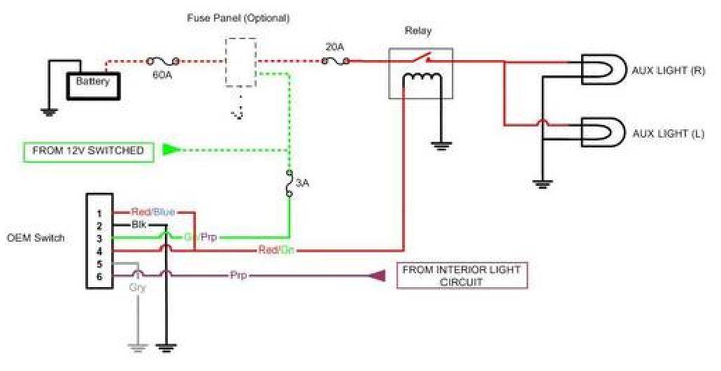 Chase Light Bar Wiring Diagram - Database