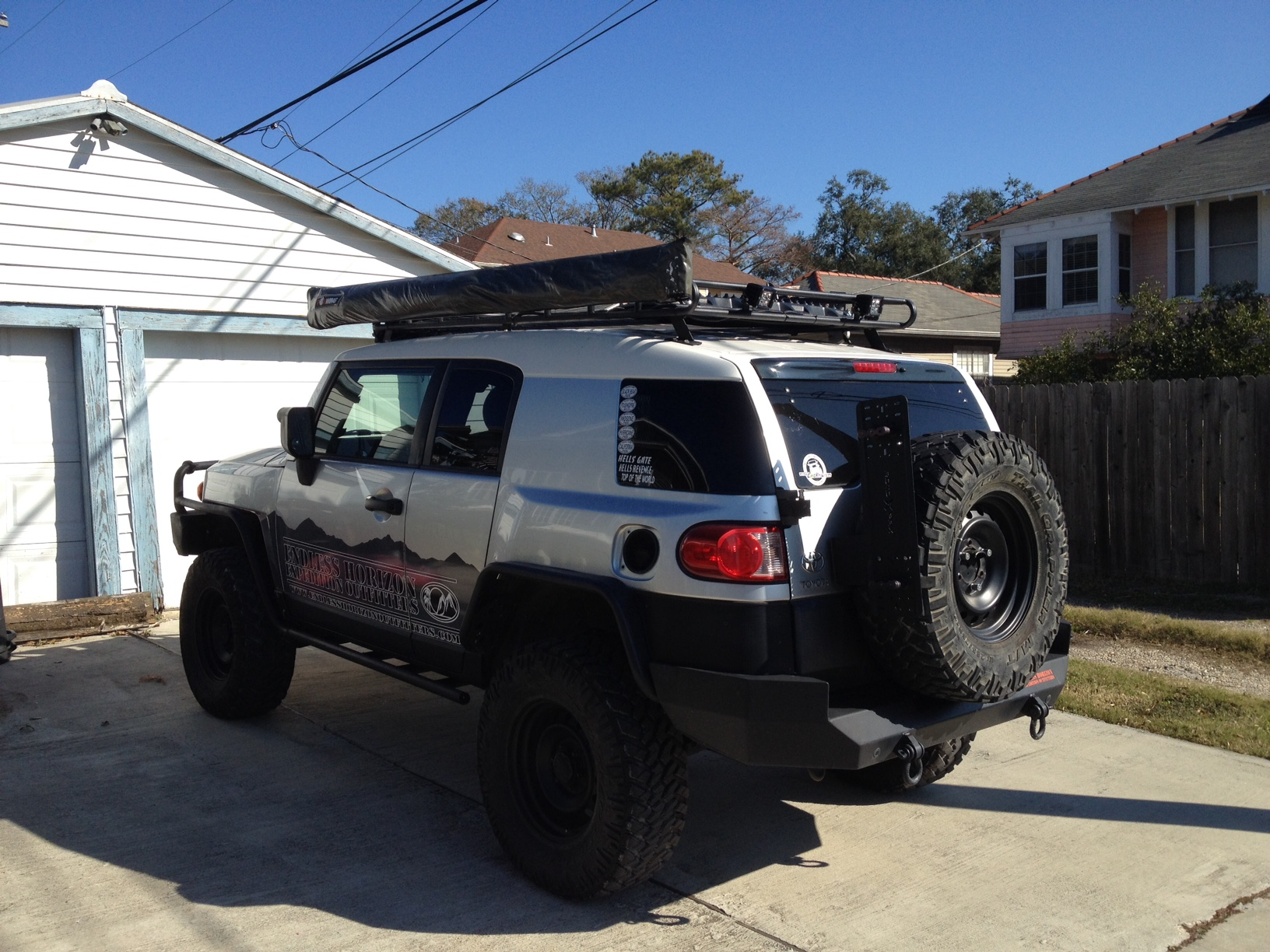 Show me your awnings - Page 7 - Toyota FJ Cruiser Forum
