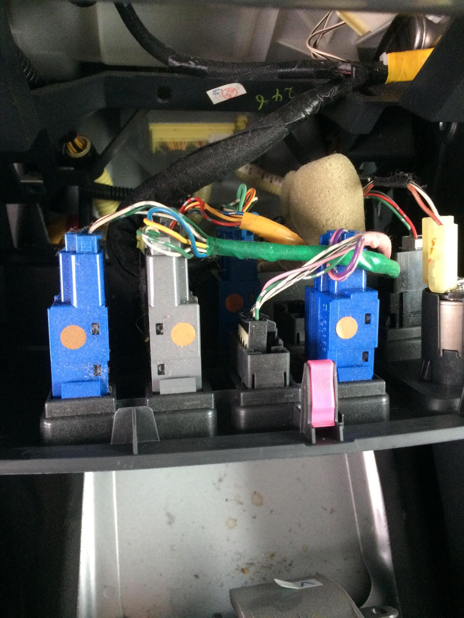 Wires Behind Switch Blanks - Toyota FJ Cruiser Forum
