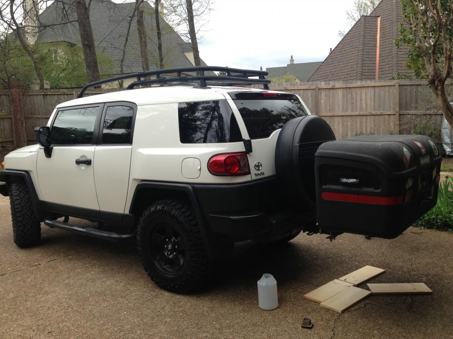 Hitch Cargo Carrier Take Ii Toyota Fj Cruiser Forum
