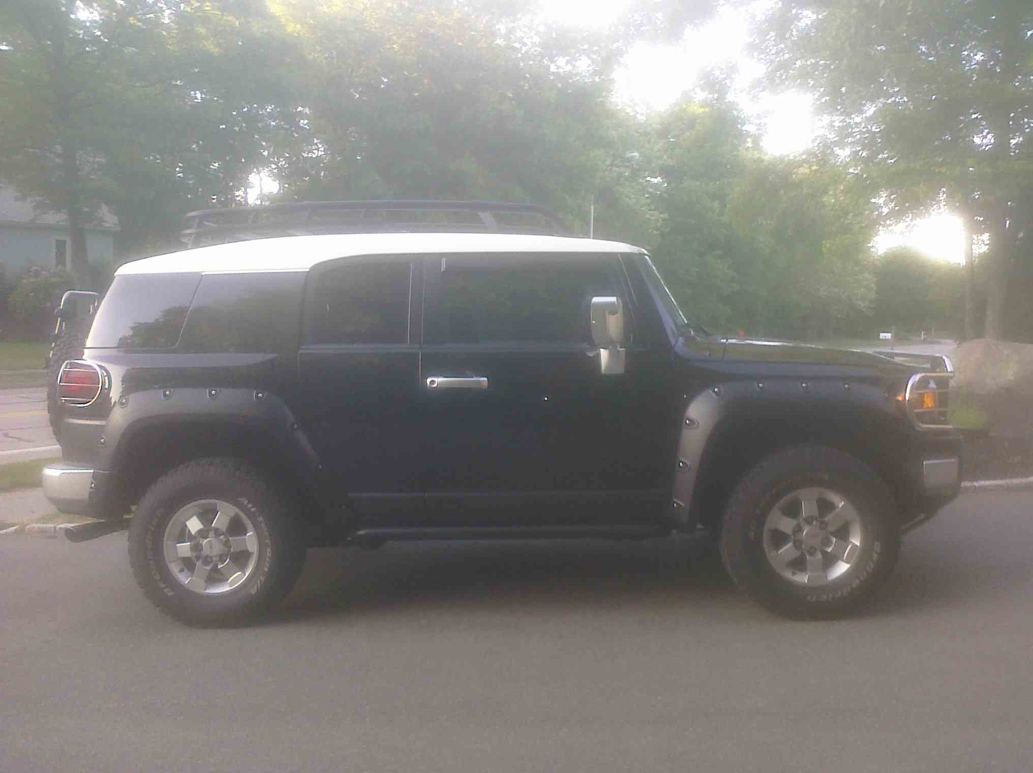 Need An Opinion On Fj Bushwacker Fender Flares Toyota Fj