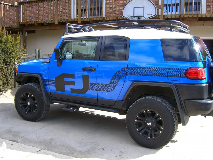 2007 Voodo Blue FJ WIth Mods  Toyota FJ Cruiser Forum