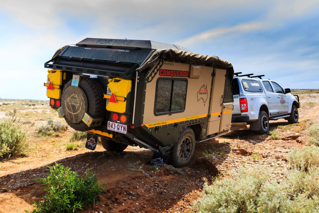 Click Image For Larger Version Name Conqueror Camper Pull Behind Truck