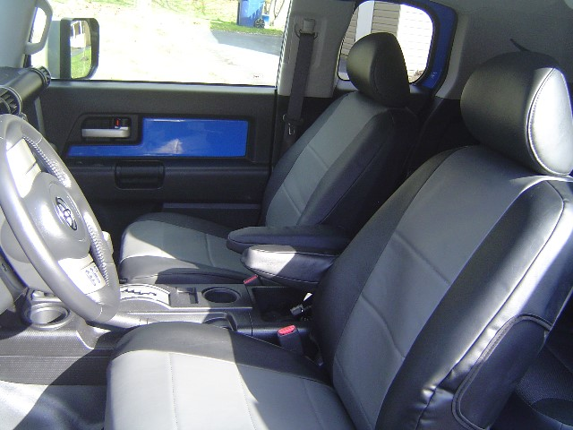 Coverking Seat Covers Installed Toyota Fj Cruiser Forum