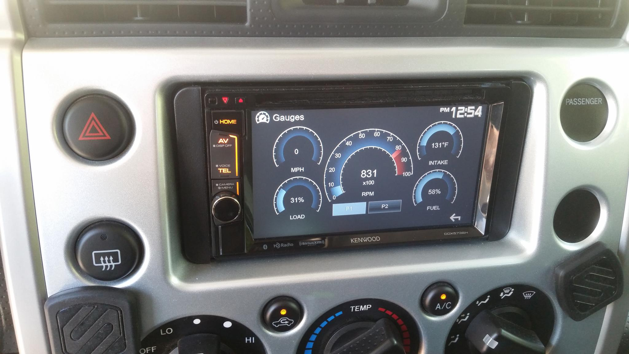 2016 Fj Cruiser >> Great upgrade to 2014 TTUE Stereo Head Unit - Toyota FJ Cruiser Forum