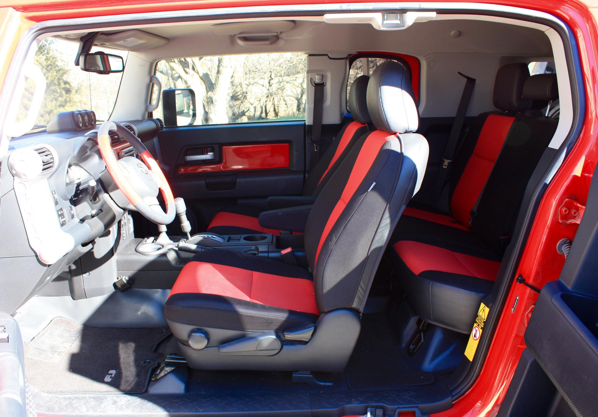 2012 Trail Team Edition Red FJ for Sale - Toyota FJ ...