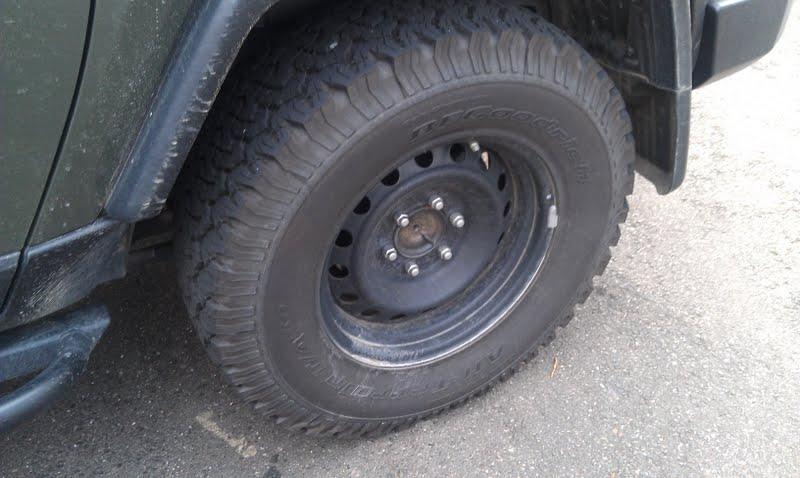 New Tires! BF Goodrich All-Terrain T/A KO (285/70R17 ...